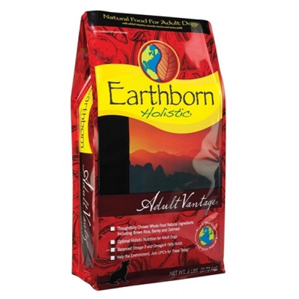 Earthborn Holistic Adult Vantage Dog Food, 6lb
