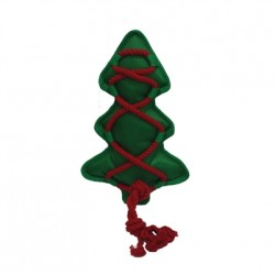 MULTIPET CROSS-ROPES HOLIDAY CHRISTMAS TREE 12 INCHES
