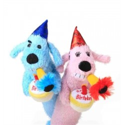 Multipet Loofa Birthday (Assorted Colors) 12""