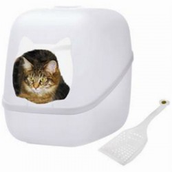 Litter Boxes + Accessories
