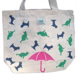 Shopping Tote - Raining Cats & Dogs