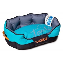 Sky Blue Toughdog Performance-Max Sporty Comfort Cushioned Dog Bed